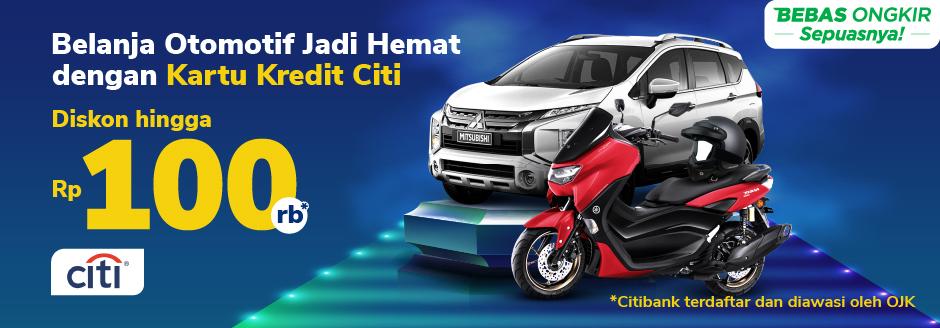 Belanja Otomotif Lebih Hemat dengan Kartu Kredit Citi