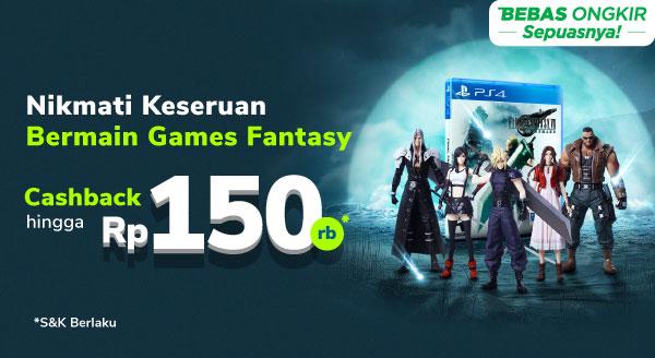 Yuk, Nikmati Serunya Main Games Dengan Cashback s.d. Rp300 Rb