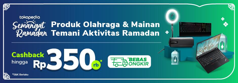 Promo Elektronik Pilihan Sambut Hari Raya Cashback hingga Rp150.000