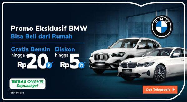 Gunakan Penawaran Spesial dari BMW, Hanya di Tokopedia