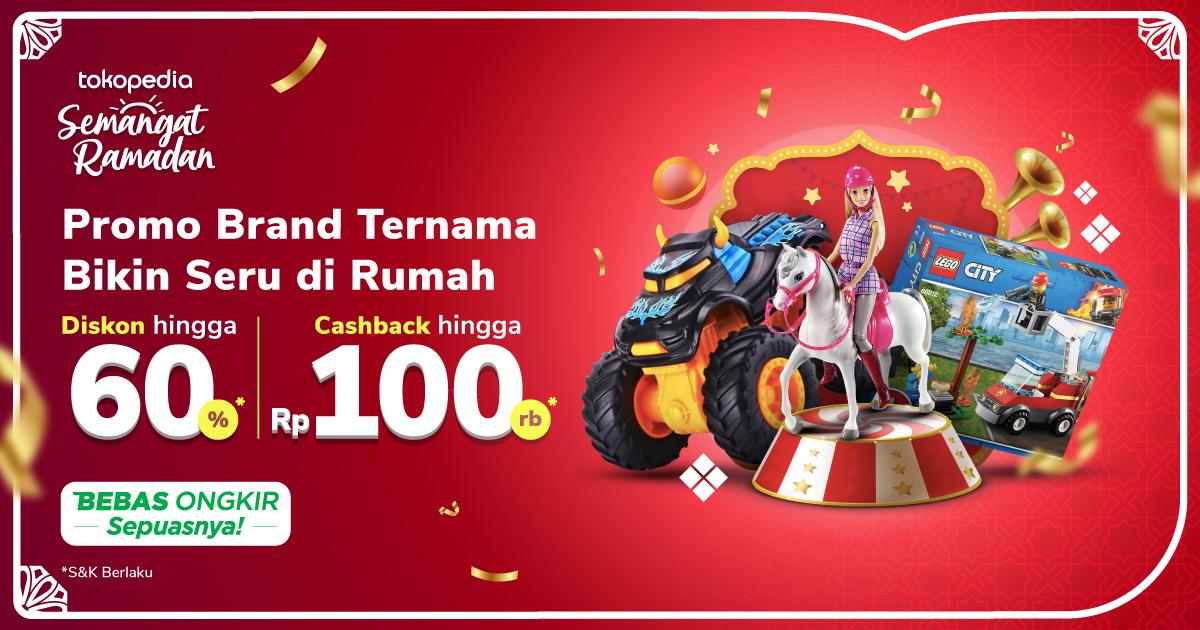 Promo Permainan Papan dan Plush – Cashback hingga Rp. 100.000