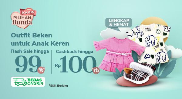 Promo Kamis Pilihan Bunda – Cashback hingga Rp100.000