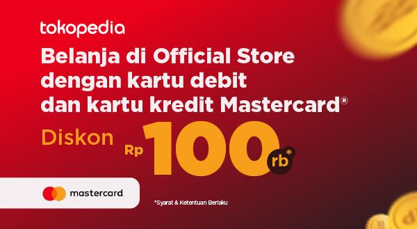 Promo Kartu Debit dan Kartu Kredit Mastercard®️ di Tokopedia Diskon Hingga Rp 100.000!