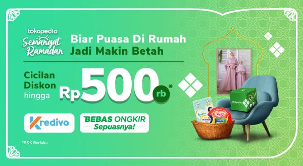 Belanja Keperluan Puasa di Rumah Diskon hingga Rp500.000