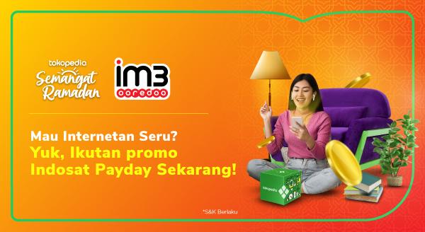 Promo Payday Indosat!