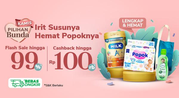 Promo Bank Kebutuhan Ibu & Bayi di Kamis Pilihan Bunda