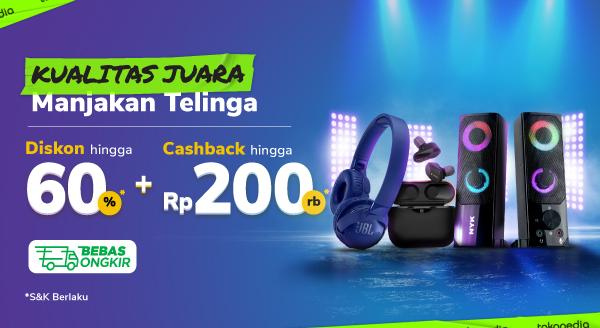 Promo Audio Fest Cashback hingga Rp200.000