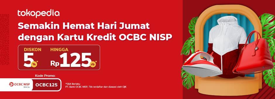 Belanja di Tokopedia Pakai Kartu Kredit OCBC NISP, Dapatkan Diskon hingga Rp 125.000!
