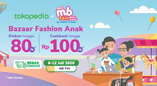 Bazaar Online Ibu-Anak Terbesar & Terlengkap Diskon Rp 50.000 dengan Kartu Kredit Citibank