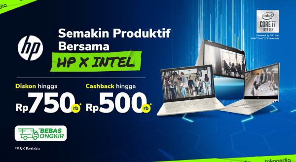Promo HPxIntel Cashback Hingga 500rb di Tokopedia