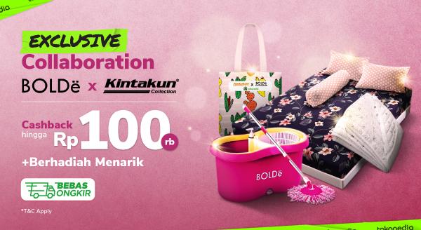 Paket Spesial Seprai Kintakun dan Bolde Cashback s.d Rp100.000