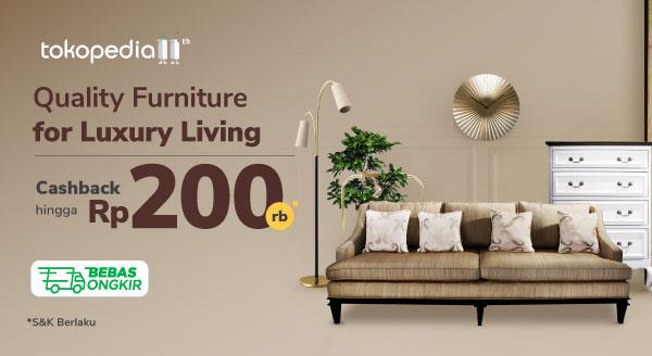 Berbagai Perabotan untuk Ciptakan Kemewahan di Rumahmu