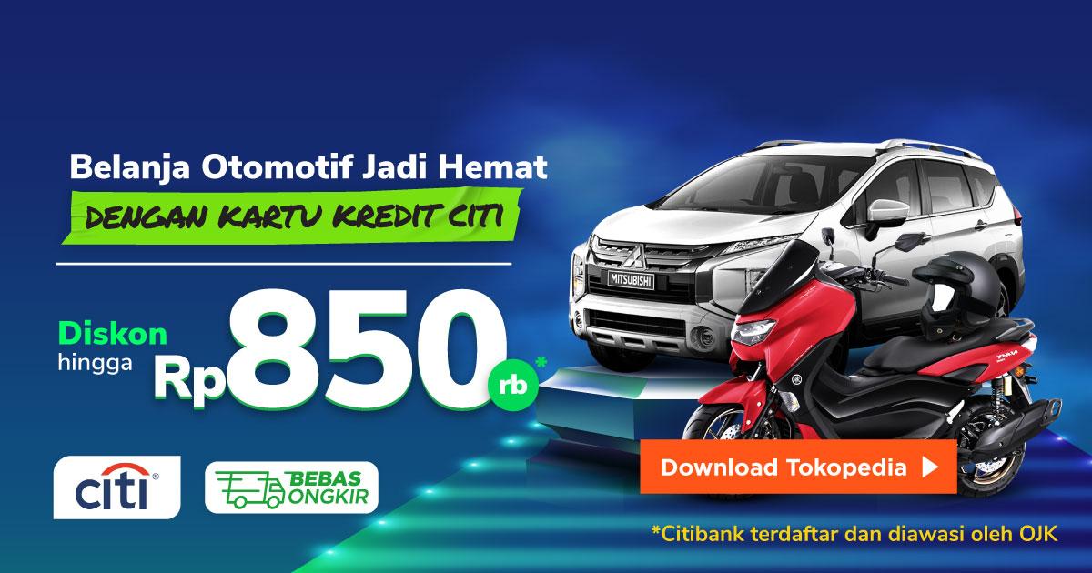 Belanja Otomotif Lebih Hemat dengan Kartu Kredit Citibank