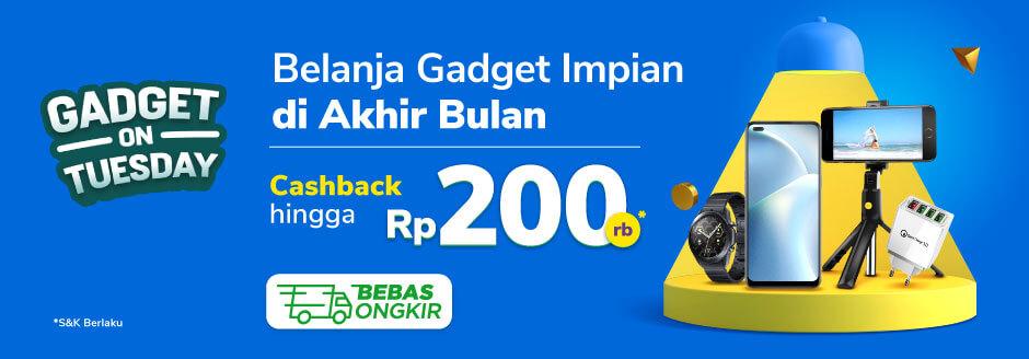 Promo Gadget Terbaru Di Gadget On Tuesday Diskon Hingga 1jt Dan Cashback Hingga Rp100rb Tokopedia