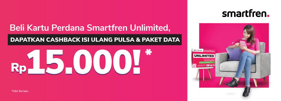 Beli Kartu Perdana Smartfren 4G Unlimited, Untungnya Banyak!
