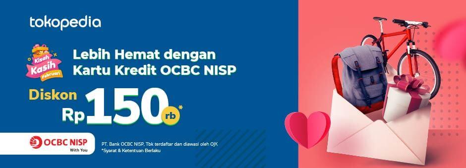 Nikmati Promo Romantis dengan Kartu Kredit OCBC NISP di Tokopedia!