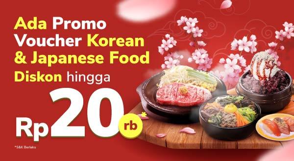 Ngidam makanan Korea / Jepang?
