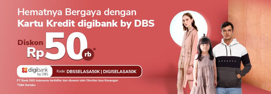 Promo Menarik Dbs Untuk Produk Fashion Diskon Rp50 000 Tokopedia