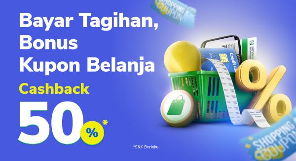 Promo Bayar, Bonus Kupon Belanja! 😍🛍️