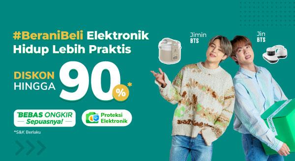 Belanja Elektronik Gak Ada Takutnya Cashback hingga Rp300.000