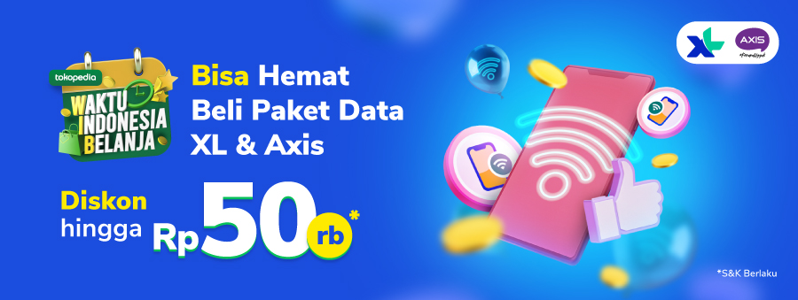 Promo WIB Paket Data XL & AXIS!