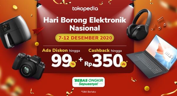 Borong Elektronik Budget Tipis