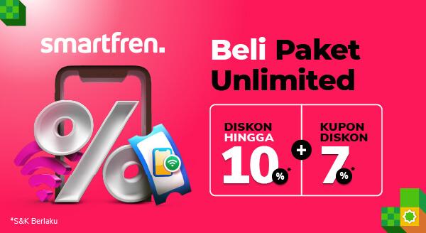 Promo Paket Smartfren Unlimited!
