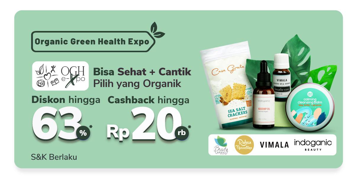 Berbagai Produk Makanan & Minuman Gratis Ongkir Rp10rb + Cashback 50%