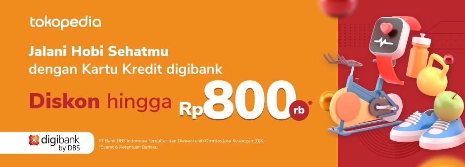 Gunakan Kartu Kredit digibank by DBS untuk Hobi Olahragamu, Rasakan Hematnya hingga Rp 800.000!
