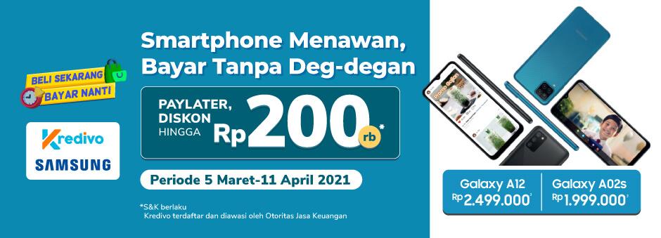 Dengan Kredivo Smartphone Menawan, Bayar Tanpa Degdegan! Diskon hingga 200rb!