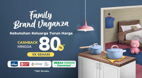 Penuhi Semua Kebutuhan Keluarga di Family Brand Vaganza!