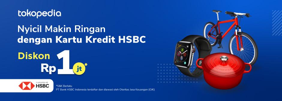 Belanja Semakin Hemat dan Ringan Pakai Cicilan Kartu Kredit HSBC Premier!