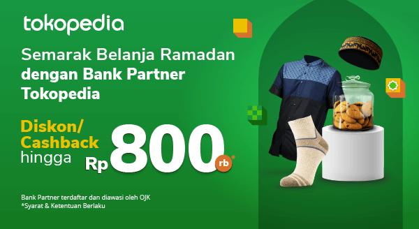 Hanya di Tokopedia! Belanja Semakin Hemat dengan Promo dari Bank Partner di Bulan Februari.