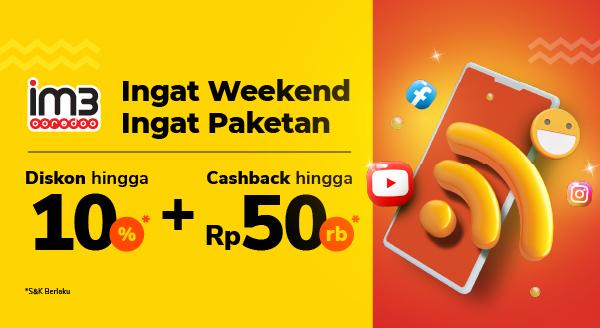 Beli Paket Data Indosat Pas Gajian, Bonusnya Double!