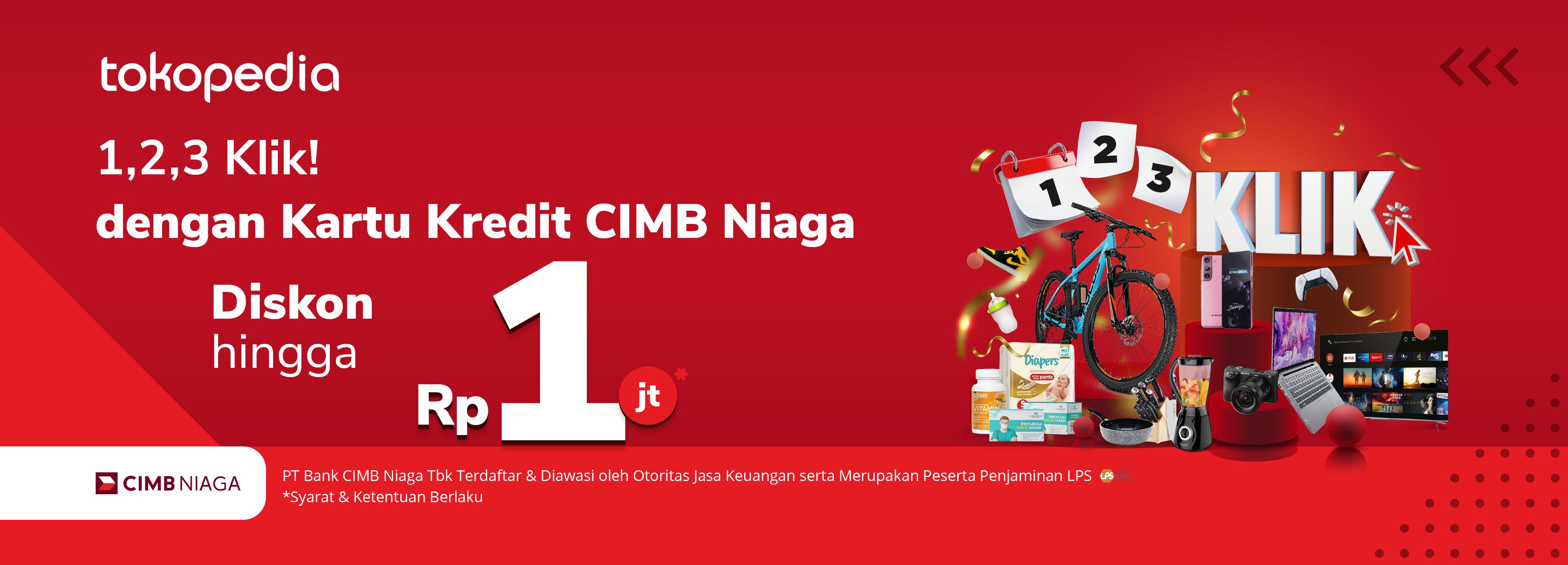 Hadiah Spesial Awal April dan Mei, Diskon hingga Rp 1.000.000,- Pakai Kartu Kredit CIMB Niaga!