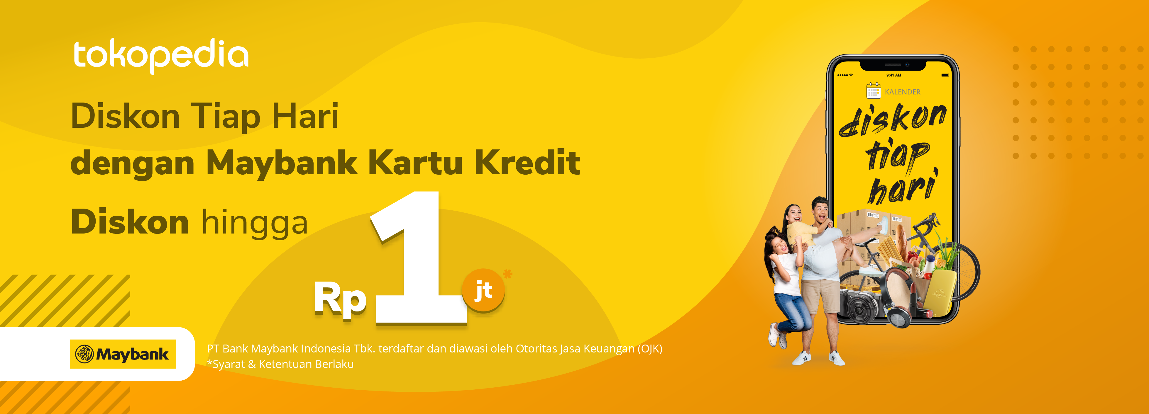 Belanja Hemat Dapat Promo Hebat dengan Maybank Kartu Kredit!