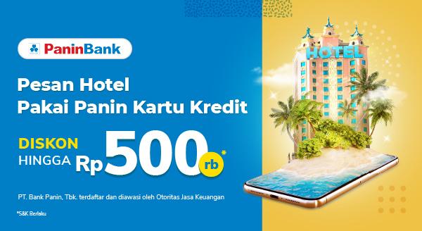 Staycation Hemat pakai Panin Bank