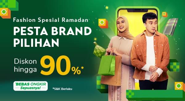 Fashion Spesial Ramadhan, Dapatkan Cashback 20%!