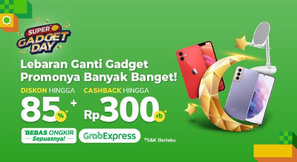 Promo Gadget dan Aksesori Lengkap di Super Gadget Day