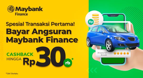 Spesial Transaksi Pertama! Bayar Angsuran Maybank