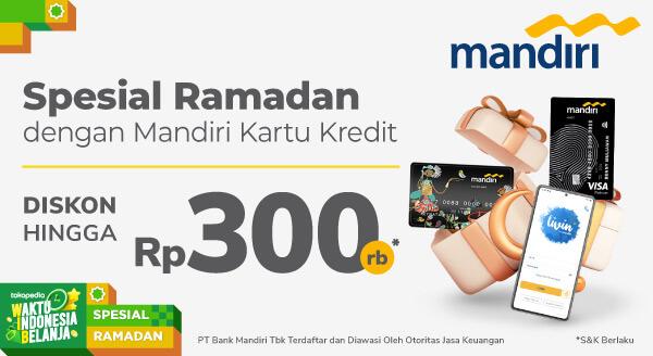 Khusus untuk Nasabah Setia Mandiri Kartu Kredit di 7 Kota Besar di Indonesia!