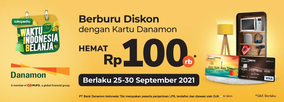 Promo Danamon Khusus di WIB September 2021!
