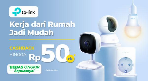 Router Wifi TP Link Kini Cashback s.d Rp50 Ribu