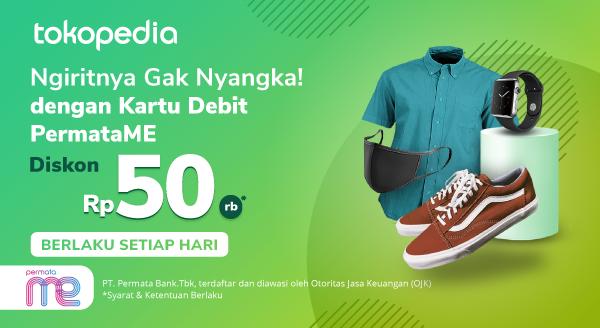 Belanja Setiap Hari, Dapatkan Diskon Rp 50.000 dengan Kartu Debit PermataME!