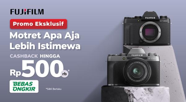 Kamera Top, Hasilnya Mantap! Fujifilm X-T200 Cashback Rp500 Ribu
