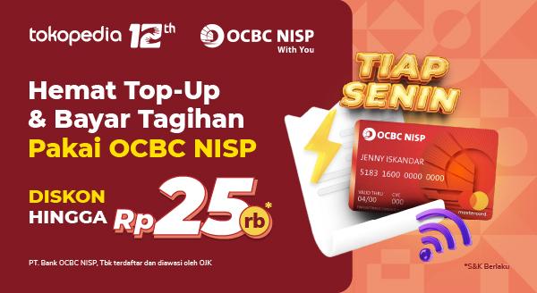Spesial pengguna OCBC Debit Online!
