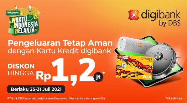 Belanja Akhir Bulan, Hematnya Kebangetan! Pakai Kartu Kredit digibank by DBS Diskon hingga 1,2juta!