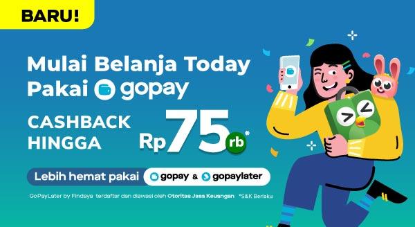 Mulai Today, Belanja Pakai GoPay!