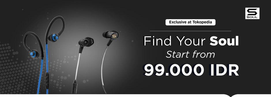 Miliki Produk Audio SOUL mulai dari Rp99.000