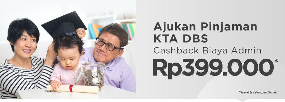 Ajukan Pinjaman, Bonus Cashback Biaya Admin!
